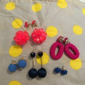 Lot of J. Crew Earrings